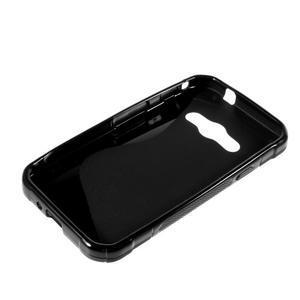 S-line gelový obal na Samsung Galaxy Xcover 3 - černý - 3