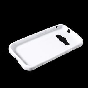 S-line gelový obal na Samsung Galaxy Xcover 3 - bílý - 3