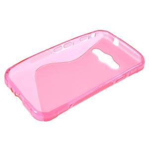 S-line gelový obal na Samsung Galaxy Xcover 3 - růžový - 3