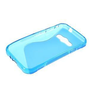 S-line gelový obal na Samsung Galaxy Xcover 3 - modrý - 3