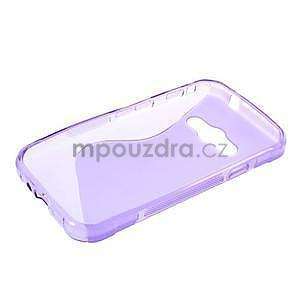 S-line gelový obal na Samsung Galaxy Xcover 3 - fialový - 3