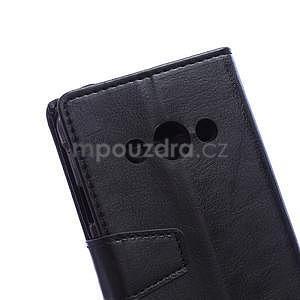 Černé koženkové pouzdro Samsung Galaxy Xcover 3 - 3