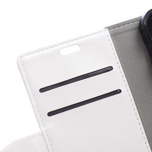 Bílé koženkové pouzdro Samsung Galaxy Xcover 3 - 3