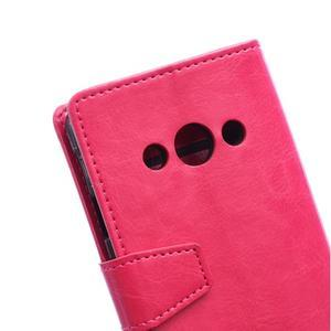 Rose koženkové pouzdro Samsung Galaxy Xcover 3 - 3