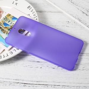Matný gelový obal na mobil Nokia 6 - fialový - 3