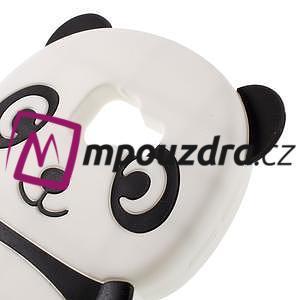 Panda silikonový obal na Samsung Galaxy A3 (2016) - černý - 3