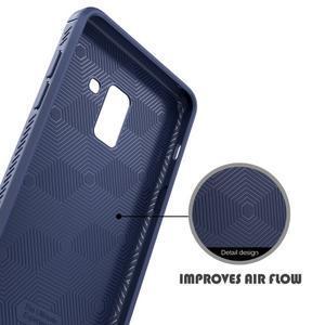 IVS odolný gelový obal na Samsung Galaxy A6+ (2018) - tmavě modrý - 3