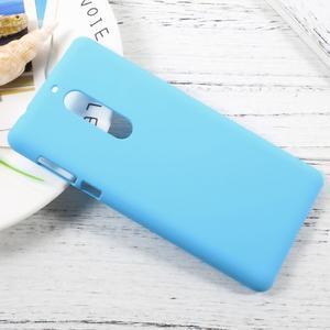 Pogumovaný plastový obal na mobil Nokia 5 - světlemodrý - 3