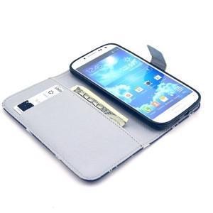 Pěněženkové pouzdro na Samsung Galxy S4 - sloni pro štěstí - 3