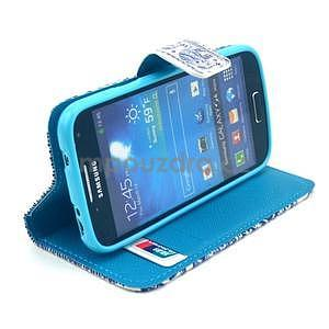 Peněženkové pouzdro na Samsung Galaxy S4 mini - sloni - 3