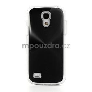 Metalický obal na Samsung Galaxy S4 mini - černý - 3