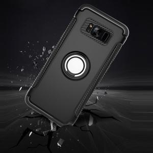 Ring odolný obal se stojánkem na Samsung Galaxy S8 Plus - stříbrný - 3