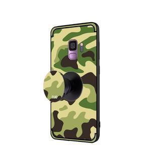Camouflage hybridní odolný obal na Samsung Galaxy S9 - světlezelený - 3