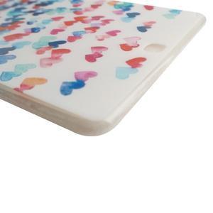 Ultrantenký obal na tablet Samsung Galaxy Tab A 9.7 - srdíčka - 3