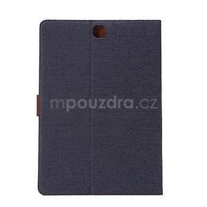 Jeans pouzdro na tablet Samsung Galaxy Tab A 9.7 - černomodré - 3