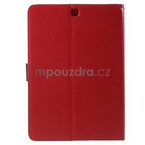 Flatense stylové pouzdro pro Samsung Galaxy Tab S2 9.7 - červené - 3