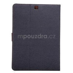 Jeans pouzdro na tablet Samsung Galaxy Tab S2 9.7 - černomodré - 3