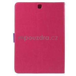 Flatense stylové pouzdro pro Samsung Galaxy Tab S2 9.7 - rose - 3
