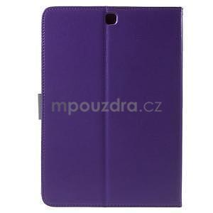 Flatense stylové pouzdro pro Samsung Galaxy Tab S2 9.7 - fialové - 3