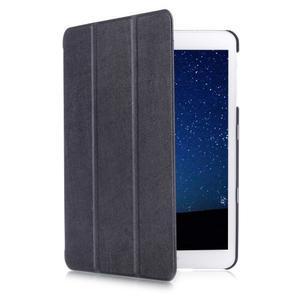 Trifold polohovatelné pouzdro na Samsung Galaxy Tab S2 9.7 - černé - 3