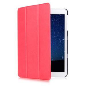 Trifold polohovatelné pouzdro na Samsung Galaxy Tab S2 9.7 - červené - 3