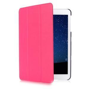Trifold polohovatelné pouzdro na Samsung Galaxy Tab S2 9.7 - rose - 3