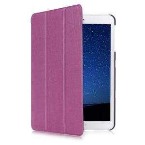 Trifold polohovatelné pouzdro na Samsung Galaxy Tab S2 9.7 - fialové - 3