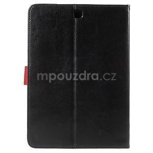 Flatense stylové pouzdro pro Samsung Galaxy Tab S2 9.7 - černé - 3