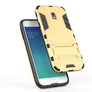 Defender odolný obal na mobil Samsung Galaxy J3 (2017) - světlemodrý - 3