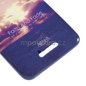 Gelový obal na Sony Xperia E4 - vycházející slunce - 3