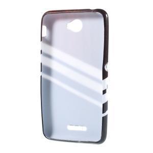 Gelový obal na Sony Xperia E4 - dekor - 3