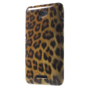 Gelový obal Sony Xperia E4 - gepard - 3