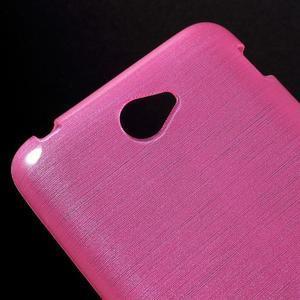 Broušený gelový obal pro Sony Xperia E4 - rose - 3