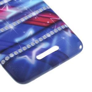 Gelový obal na Sony Xperia E4 - snové diamanty - 3