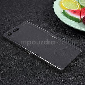 Ultratenký gelový obal na Sony Xperia XZ Premium - šedý - 3