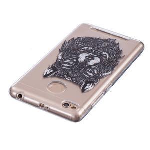 Emotive gelový obal na mobil Xiaomi Redmi 3S - vlk - 3