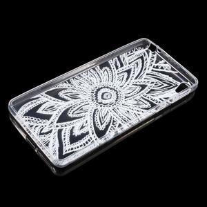 Ultratenký gelový obal na Sony Xperia E5 - henna - 3