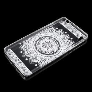 Ultratenký gelový obal na Sony Xperia E5 - mandala III - 3