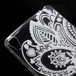 Ultratenký gelový obal na Sony Xperia E5 - květina - 3
