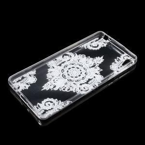 Ultratenký gelový obal na Sony Xperia E5 - krajky V - 3