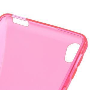 S-line gelový obal na mobil Sony Xperia E5 - rose - 3