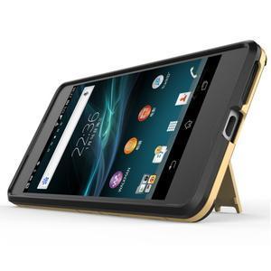 Outdoor odolný obal na mobil Sony Xperia E5 - zlatý - 3