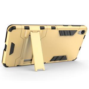 Outdoor odolný obal na mobil Sony Xperia E5 - stříbrný - 3