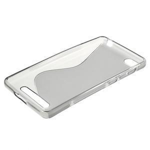 S-line gelový obal na mobil Xiaomi Mi4c/Mi4i - šedý - 3