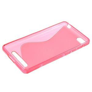 S-line gelový obal na mobil Xiaomi Mi4c/Mi4i - rose - 3