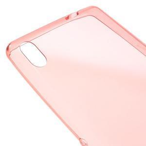 Ultratenký gelový obal na mobil Sony Xperia XA Ultra - červený - 3
