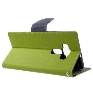 Diary PU kožené pouzdro na mobil Asus Zenfone 3 Deluxe - zelené - 3