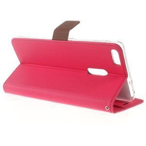 Diary peněženkové pouzdro na mobil Asus Zenfone 3 Ultra - rose - 3