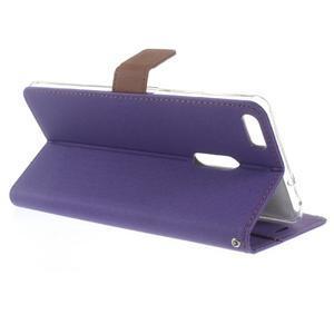 Diary peněženkové pouzdro na mobil Asus Zenfone 3 Ultra - fialové - 3