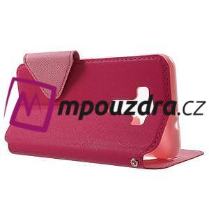 Diary pouzdro s okýnkem na mobil Asus Zenfone 3 ZE520KL - rose - 3